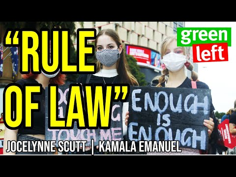 "Jocelynne Scutt on ""rule of law"" and sexual violence 
