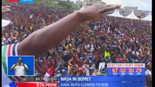 NASA co-principal Musalia Mudavadi escorts Bomet Governor Isaac Ruto for IEBC clearance in Bomet