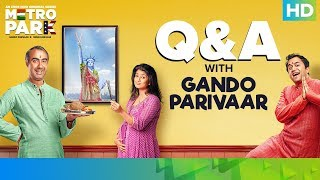 How Gujju Is The Cast of Metro Park?   Ranvir Shorey, Omi Vaidya, Vega Tamotia   Eros Now Original