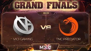 Vici Gaming vs TNC Predator Game 4 - MDL Chengdu Major: GRAND FINALS