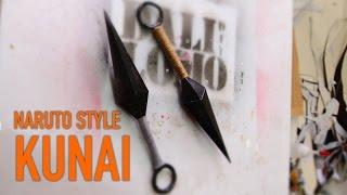 #97: Naruto's Kunai - Cereal Box (free template) | Costume Prop | How To | Dali DIY