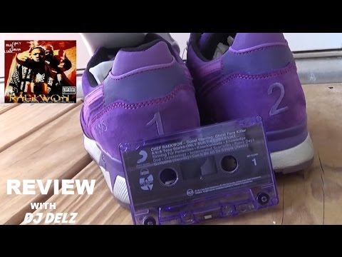 Raekwon x Packer Shoes x Diadora N.9000 Purple Tape Shoe Comparison Review