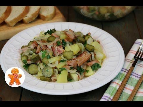 Картофельный Салат по-Немецки Очень Простой и Вкусный
