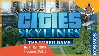 Cities Skylines: Kosmos - Brettspiele - Berlin Con Studio 2019