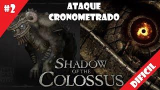 Coloso #2 (DIFICIL) - Ataque Cronometrado - Shadow of the Colossus (HD)