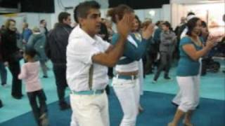preview picture of video 'Bachata workshop with Dancebachata @ Destinations Travel Show Earls Court Feb 2010'