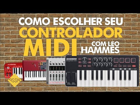 Como Escolher Seu Controlador MIDI