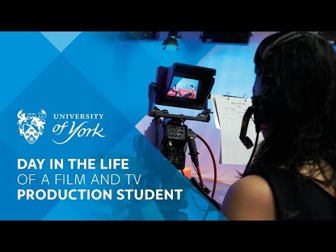 Day in the life of a Film & TV student