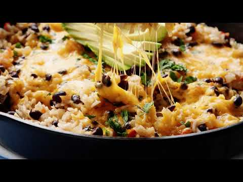 Easy Cheesy Rice and Beans