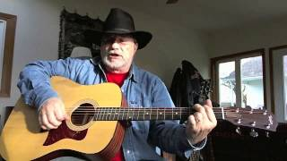 711 - North To Alaska - Johnny Horton - acoustic cover by George Possley