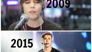 Justin Bieber's Performances 2009 2015 – The Evolution