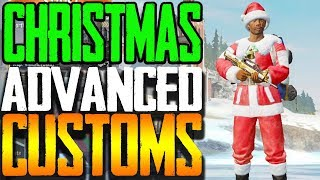 CHRISTMAS DAY OPEN ADVANCED CUSTOMS | PUBG MOBILE | Lights Out