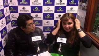 Entrevista Angélica Rizzi por Aldo Incio en Bossa Nova Perú Radio