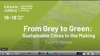WU International Symposium URBAN JUNGLE: From Grey to Green, Experts Debate on Sustainable Cities
