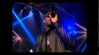 "50 Cent LIVE at The XFactor ""Wait until tonight""& ""In the club"""