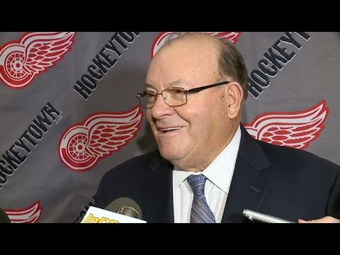 Scotty Bowman returns to Detroit for 1997 Stanley Cup celebration