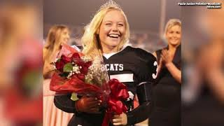 Female Varsity Football Player Wins Homecoming Queen