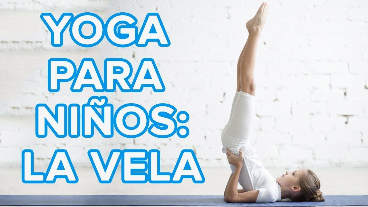 Yoga para niños | La postura de la vela o Sarvangasana ????️