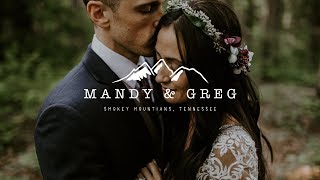 Intimate Boho Elopement  - Smokey Mountains Tennessee