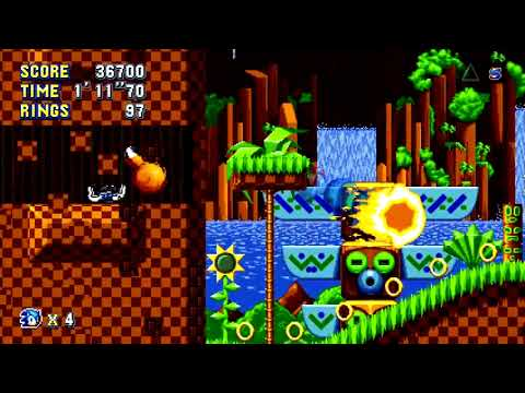 Sonic Mania (PlayStation 4) Full Playthrough