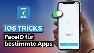 FaceID für einzelne Apps (de)aktivieren - iOS Tipps & Tricks