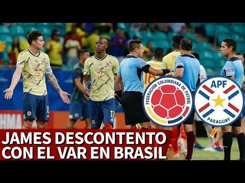 Colombia 1 Paraguay 0 | James Rodríguez habló en zona mixta del VAR tras el partido | Diario AS