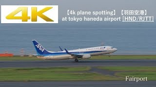 【4k Plane Spotting】【羽田空港】Panasonic LUMIX DC-GH5 At Tokyo Haneda Airport [HND/RJTT]