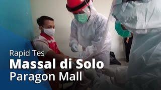 Karyawan Solo Paragon Mall Jalani Rapid Test Massal: Deg-dengan Takut Hasilnya
