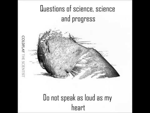 Coldplay - The Scientist (instrumental + lyrics)