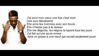Dadju La Roue Tourne (parole)