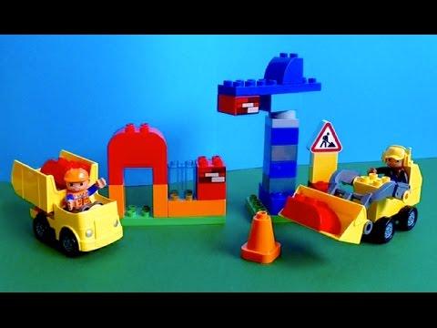 Vidéo LEGO Duplo 10518 : Mon premier chantier