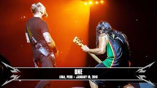 Metallica: One (MetOnTour - Lima, Peru - 2010)
