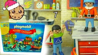 Playmobil Holiday Christmas Advent Calendar - Toy Surprise Blind Bags  Day 7