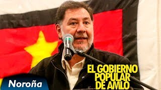 Los Retos del Nuevo Gobierno - Noroña con el PT en Morelia