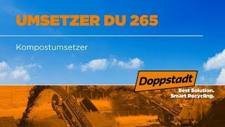 Doppstadt DU 265 - Kompostumsetzer - Deutsch