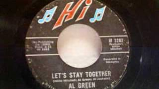 Old School Soul Al Green - Let's Stay Together (Long Version) (1972)