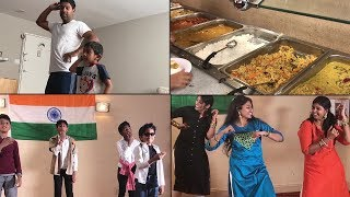 ஆட்டம் பாட்டம் கொண்டாட்டம் | FUN TIME | DANCE | Family Traveler VLOGS (2020) | USA Tamil VLOG