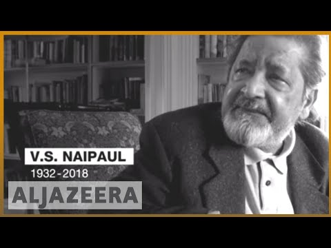 🇬🇧 VS Naipaul, Nobel Prize-winning author, dies at 85 | Al Jazeera English