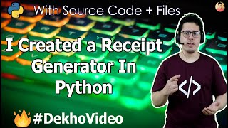 How to Create An Indian Kirana Store Calculator & Receipt Generator In Basic Python?