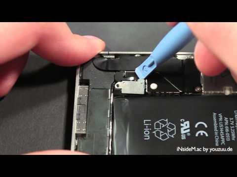 iPhone 4 Batterie / Akku wechseln Anleitung [TuT] www.iNsideM.ac