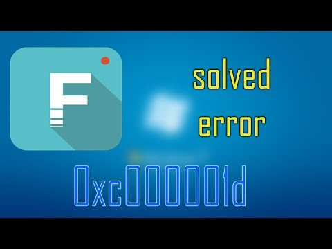 How to solve/fix Filmora error 0xc000001d in 1 minute