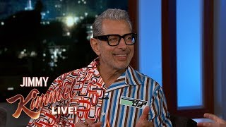 Jeff Goldblum on Jurassic Park, Thor & Performing Jazz