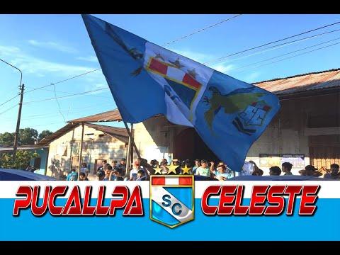 """""""IMPRESIONANTE - ASÍ CELEBRO LA HINCHADA CELESTE EN PUCALLPA LA ESTRELLA 20 - SPORTING CRISTAL"""" Barra: Extremo Celeste • Club: Sporting Cristal • País: Peru"""