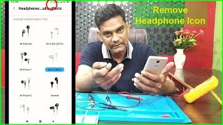 Headphone Symbol Not Going In Android Phone | How to Remove Headphone Icon from Notification Bar