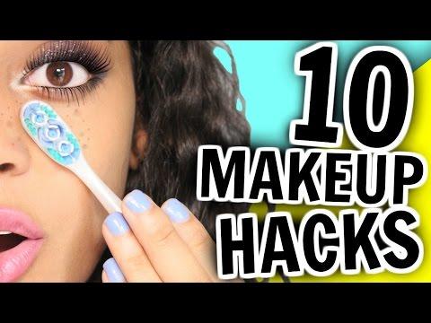 10 Makeup HACKS You've NEVER Seen Before!!