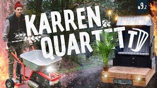 Karren Quartett 9.2 – Schnellste Schubkarre der Welt?