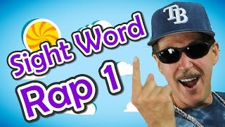 Sight Word Rap 1 | Sight Words | High Frequency Words | Jump Out Words | Jack Hartmann