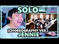 JENNIE - SOLO Choreography Unedited Version [LEGS FOR DAYSS]