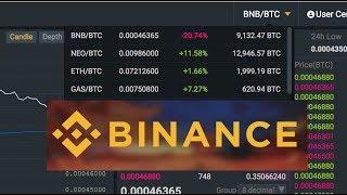 Binance как работать на бирже Бинанс Binance BNB