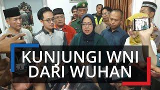 Bupati Bogor Kunjungi Mahasiswa yang Dipulangkan dari Wuhan: Masyarakat Tak Perlu Khawatir